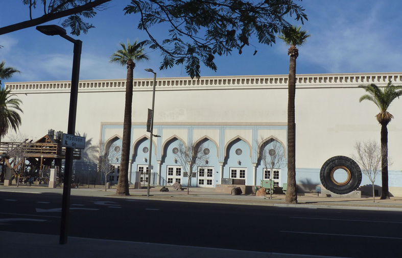 Polly Rosenbaum Building, site of the Arizona Mining, Mineral and Natural Resource Education Museum. (Courtesy of Cronkite News)