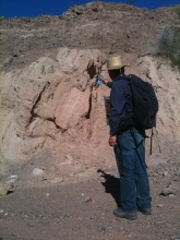 fanglomerate, tectonics, deformation, angular unconformity