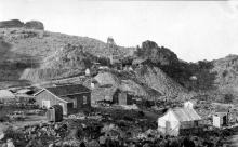 gold ore, historic mining
