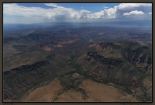 Oak Creek Canyon, Sedona, Verde Valley, Munds Canyon, Tertiary basalts