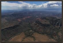 Oak Creek Canyon, Sedona, Verde Valley, Munds Canyon, Tertiary basalts