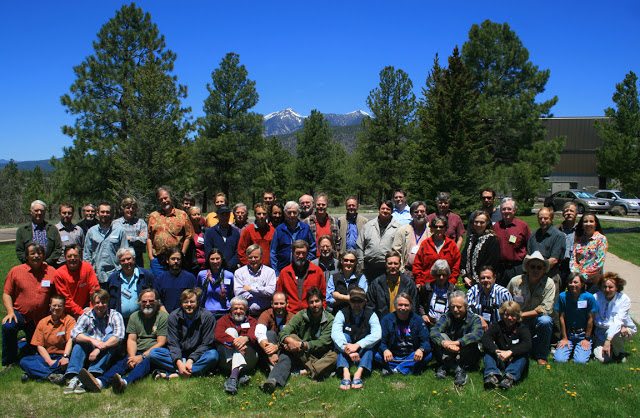"""Participants at the """"Workshop on the Origin of the Colorado River,"""" USGS, Flagstaff, May, 2010"""