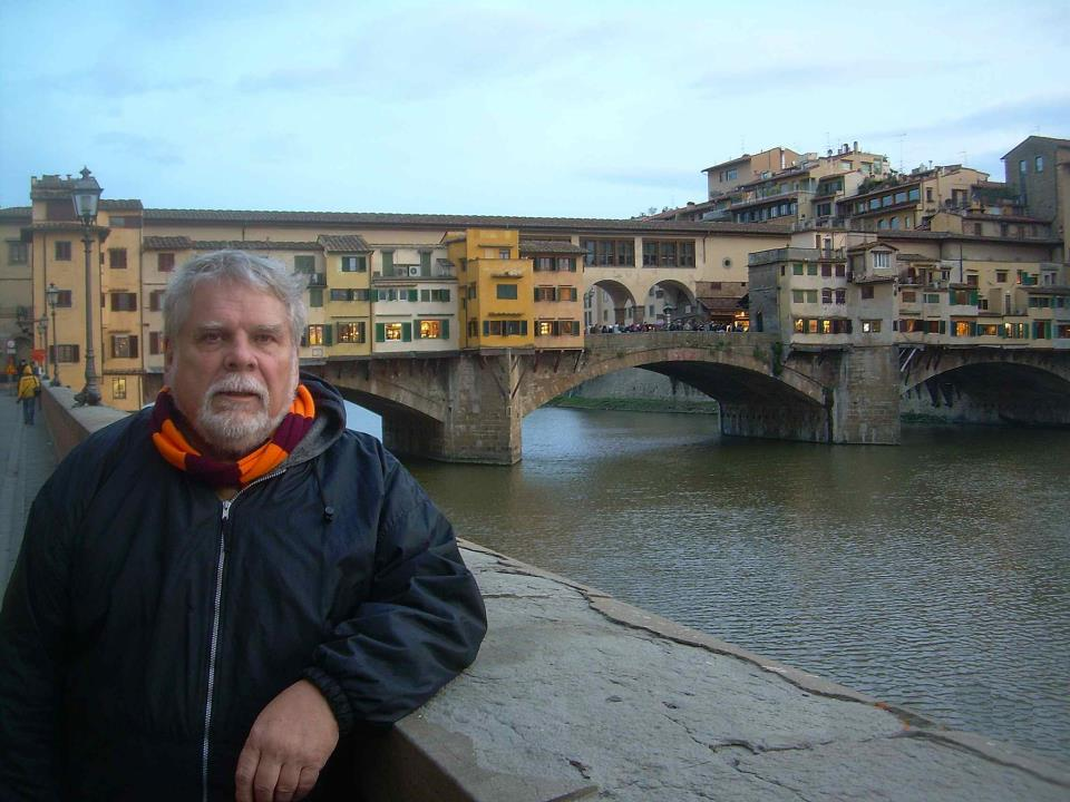 Doug Shakel in Florence, Italy, in 2007.