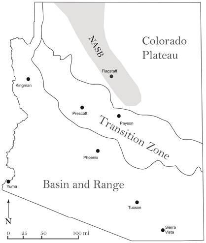 Map Of Arizona Fault Lines.Earthquake Shakes North Rim Area 07 07 13 08 38 59 Utc Arizona