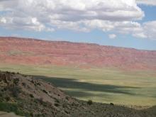 Vermillion Cliffs, Mesozoic age rocks, sedimentary rocks