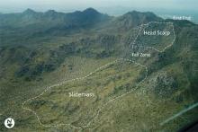 mass wasting, landslide, geologic hazard, Maricopa County