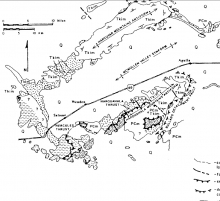 structural geology, core complex, extension