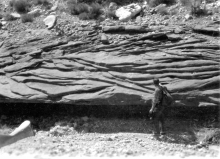 trough cross beds, fluvial architecture